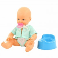 Кукла пупс Забавный с соской и горшком Полесье 73051