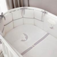 Комплект постельного белья Perina Bonne Nuit Oval 7 предметов арт. БНО7-125х75